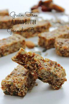 Grain Free Granola Bars Recipe
