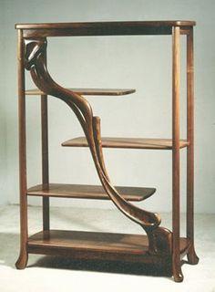 Art Nouveau Style: Contemporary Art Nouveau Style Furniture