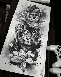 dessins de tatouage 2019 Simply of Beautiful Flower Tattoo Drawing Ideas for Women - Tattoo Designs Photo Trendy Tattoos, Unique Tattoos, Cute Tattoos, Body Art Tattoos, Tatoos, Awesome Tattoos, Crazy Tattoos, Buddha Tattoos, Buddha Tattoo Design
