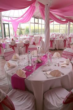 Pretty in pink wedding setting This is what I\u0027m thinking with the white and. Pink Sweet 16Wedding CeilingPink TableCircus ... & These local Boston restaurants make rehearsal dinners showers and ...