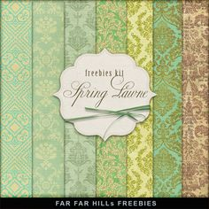 Far Far Hill: New Freebies Kit - Spring Lawn