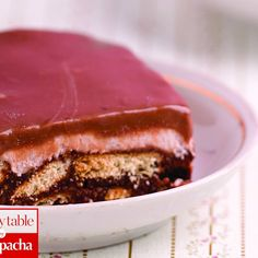 No-Bake Chocolate Ganache Layer Cake http://www.kosher.com/recipe/2116 www.kosher.com