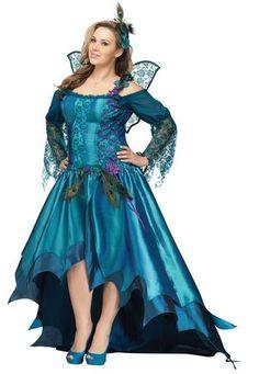 Elegant Peacock Fairy Plus Size Costume                                                                                                                                                                                 More