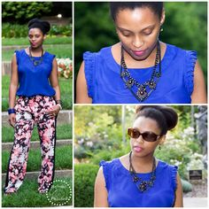 Fashion Refined ~ Floral & Cobalt | Refined and Polished