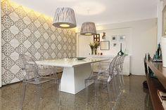 Sala de Jantar #living #homedecor #decoração Revista Ambientes | Arquitetura | Decoração | Estilo | Design