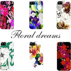 """Floral Dreams"" by thelostlanes on Polyvore."