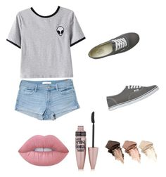 """""""Tumblr"""" by brooklyn-adair-styles on Polyvore featuring Abercrombie & Fitch, Chicnova Fashion, Vans, Lime Crime, Maybelline and Urban Decay"""