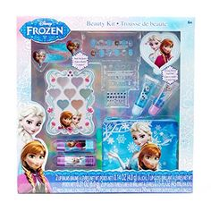Disney Frozen Complete Beauty Kit 70 Pieces Cosmetic Set New Kids