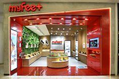 My Feet store at Gandaria City Mall by Metaphor Interior, Jakarta – Indonesia