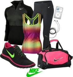 Nike running shoes are so pretty. The collocation of color is great.just $64.90!