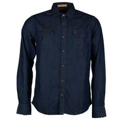 Denim Button Up, Button Up Shirts, Tops, Fashion, Moda, Chemises, Shell Tops, Fasion, Fashion Illustrations