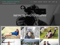 Infinite Photography is a best WordPress theme for photo blogging, photo sharing and well suited for travel, food, life style, sports,.. Designed with a great elegant and easy to customize...