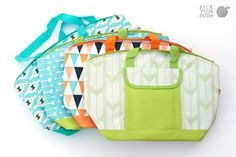 It's Picnic Season!- Insulated Cooler Tote and Sandwich Bags.  A MUST HAVE for summer!