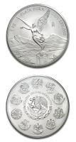 1kilo silver Libertad coin from Mexico