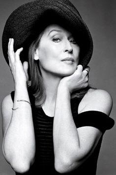 Meryl Streep in W magazine