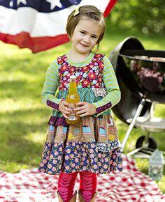 Matilda Jane Clothing-cactus flower Shasta dress