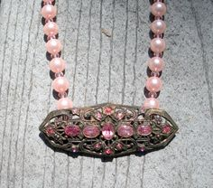 Vintage Brooch Necklace by d3tennis on Etsy, $50.00