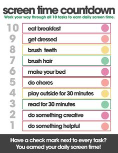 free summer printables screen time countdown summer rules to earn electronics free printables Kids And Parenting, Parenting Hacks, Natural Parenting, Single Parenting, Parenting Quotes, Chore Chart Kids, Chore Charts, Kids Schedule Chart, Daily Routine Chart