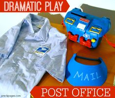 Do you struggle to find time to change out the props in your dramatic play center? These printable props will help you easily transform your dramatic play center into an adorable post office. This ...