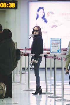 Krystal Jung Fx fashion airport