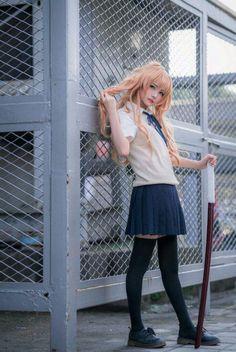 Taiga Aisaka (⭐Toradora⭐) cosplay by 吉原悠一_Yui Taiga Cosplay, Anime Cosplay, Taiga Anime, Manga Clothes, Anime Conventions, Kawaii Cosplay, Anime Kiss, Yui, Kawaii Girl