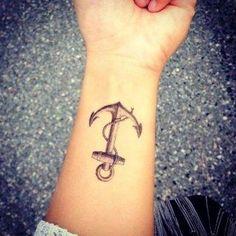 nice Women Tattoo - Tatuagem de âncora em 60 fotos incríveis...