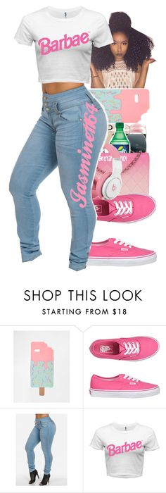 """""""Barbae"""" by jasmine1164 ❤ liked on Polyvore featuring moda, ASOS e Vans"""