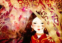 Folklore picture book illustration by Khoa Le