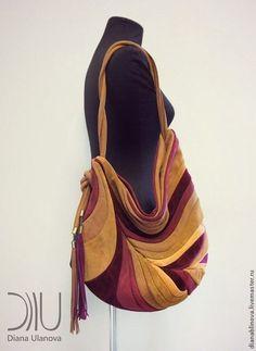 Женские сумки ручной работы. сумка кожаная