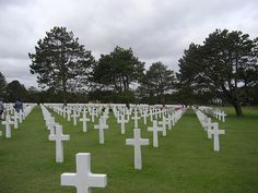 American cemetery,Normandy France