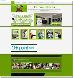 Site Academia Falcon Fitness www.falconfitness.com.br
