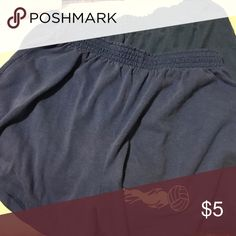 Two pair blue soffee shorts S and m Soffe Shorts