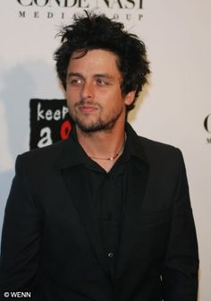Billie Joe Armstrong. With or without makeup, with or without facial hair; always gorgeous ;)