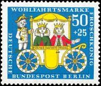 The Frog Prince German Stamp