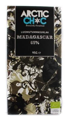 Dark Chocolate Maddagascar 65% bar #organic #handmade #chocolate #finland #madagascar