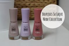 Bourjois So Lacque Nude Collection