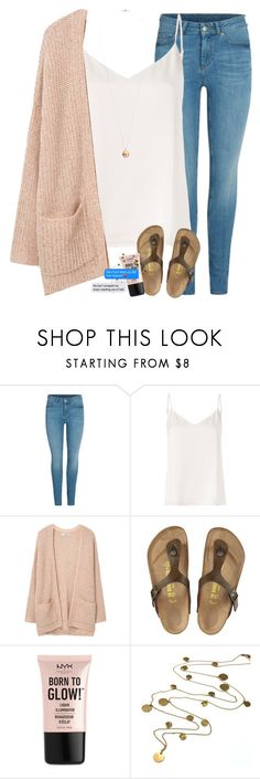 """""""Help me polarize"""" by labures on Polyvore featuring L'Agence, MANGO, Birkenstock, NYX, Boutique by Jamie and Dorothy Perkins"""