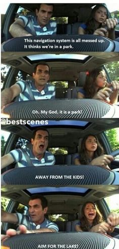 oh my god...so freaking funny....modern family all the way