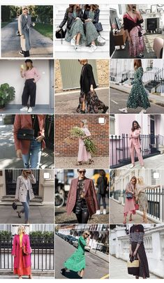 10 of my Favourite Fashion Instagrammers to follow for style inspiration, high street, high end, street style.