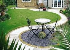 47 Remakable Small Patio Design Ideas On A Budget Patios have always been our favorite place for leisure leisure hours, make sure it barbecuing in the day, sipping cocktails . Read Remakable Small Patio Design Ideas On A Budget Patio Pavé, Circular Patio, Backyard Patio Designs, Small Backyard Landscaping, Patio Ideas, Budget Patio, Landscaping Ideas, Backyard Ideas, Sand Patio