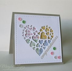 impression obsession heart of hearts images | ... time for paper: Quilting and Digging Impression Obsession heart die