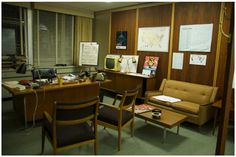 winning garage office designs. Harry Crane s little office in Season Welcome to 1969  Mad Men Award Winning Set Design design