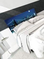 Cuadros cabecero, NY New York, Nueva York - Ideas de decoración, decorar con cuadros, decoración del hogar, decoración de habitaciones. Trabajo realizado por decoraconimaginacion.com