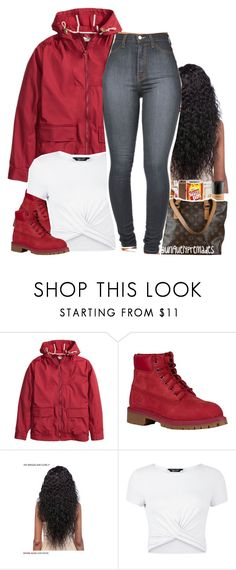 """""""😜😝"""" by liveitup-167 ❤ liked on Polyvore featuring Timberland and New Look"""