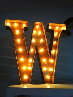 vintage marquee light