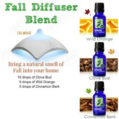 #Essential Oils Rock! That wonderful smell of Fall - Now you can get 10% off your total order - use code MAMA Visit: http://sparknaturals.com/?id=609