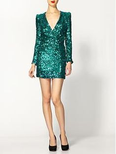 Obsesssssed with this dress!!! French Connection Samantha Sequins Dress | Piperlime