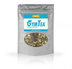 GymTea Tropical 100 Gramm-Beutel, sehr interessante Kräutertee-Mischung mit u.a. Grüntee, Mate Tee, Brennessel, mit natürlichem Koffein - jetzt auch online #lowcalorie #abnehmen #fitness #active12 #GymTea