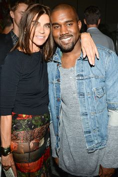 Mademoiselle C Documentary Party Carine Roitfeld and Kayne West