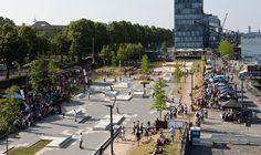 KAP 686 - the new Skate Plaza in Cologne.